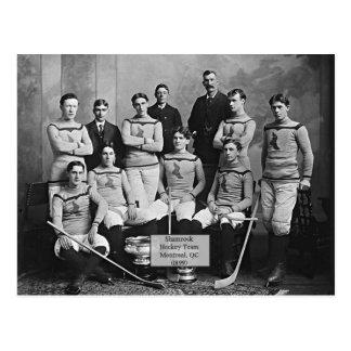 Equipo de hockey del trébol, Montreal, ` del Postal