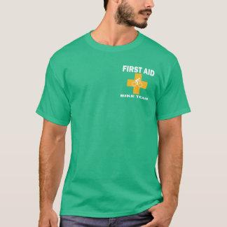 Equipo de la bici de los primeros auxilios camiseta