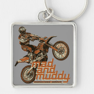Equipo de la motocicleta llavero personalizado