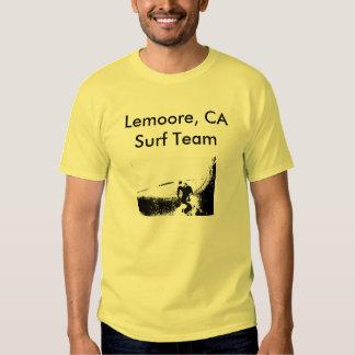 Equipo de la resaca de Lemoore Camisetas