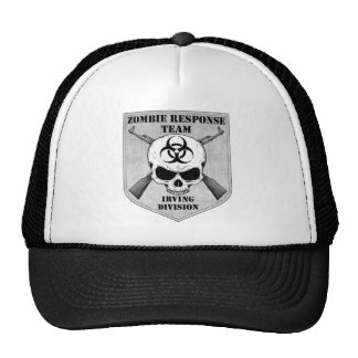 Equipo de la respuesta del zombi: División de Irvi Gorros Bordados