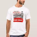 Equipo de la sustancia química de la energía camiseta