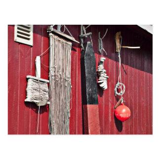 Equipo de las artes de pesca postal