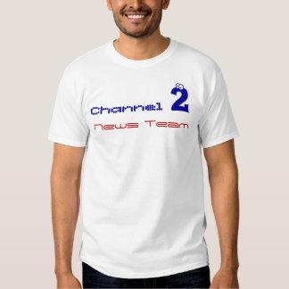 equipo de noticias del canal 2 camisas