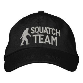 Equipo de Squatch Gorras Bordadas