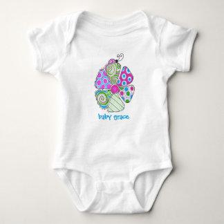 equipo del bebé del insecto del amor body para bebé