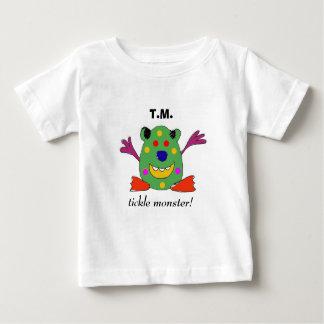 Equipo del bebé del monstruo de las cosquillas camiseta