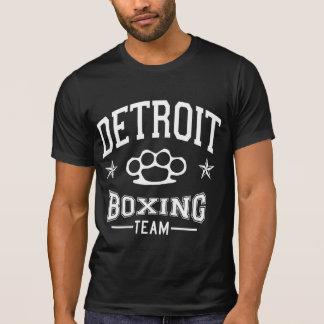 Equipo del boxeo de Detroit Camisetas
