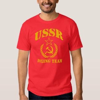 Equipo del boxeo de URSS Camiseta
