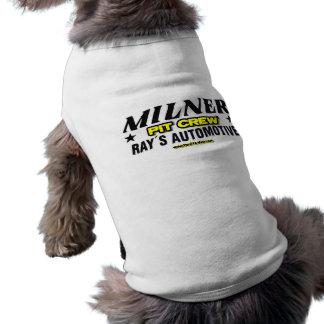 Equipo en boxes de Milner Camiseta Sin Mangas Para Perro