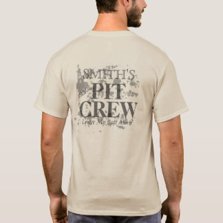 Equipo en boxes unisex del personalizable 250º camiseta