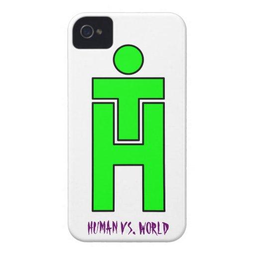 Equipo entre personas CONTRA la cubierta de Iphone iPhone 4 Carcasa