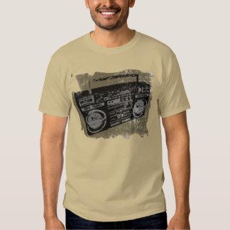 EQUIPO ESTÉREO PORTÁTIL RETRO de los años 90 de Camiseta