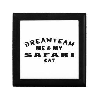 Equipo ideal yo y mi gato del safari cajas de regalo