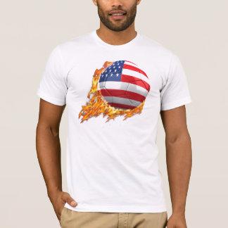 Equipo los E.E.U.U. en el fuego Camiseta