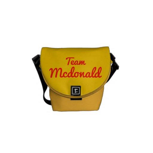 Equipo Mcdonald Bolsa Messenger
