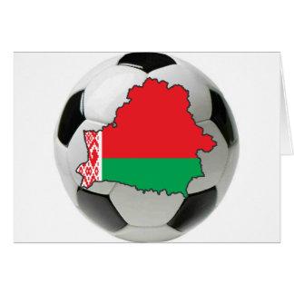 Equipo nacional de Bielorrusia Tarjeta De Felicitación