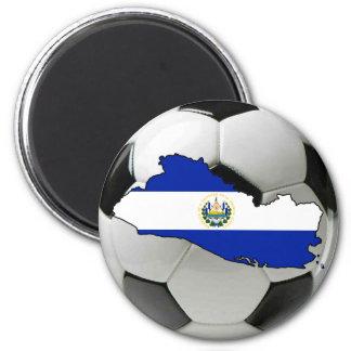 Equipo nacional de El Salvador Imán Redondo 5 Cm