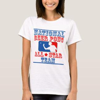 Equipo nacional de Pong de la cerveza Camiseta