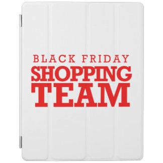 Equipo negro de las compras de viernes -- Humor Cubierta De iPad