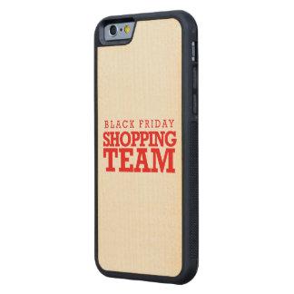Equipo negro de las compras de viernes -- Humor Funda De iPhone 6 Bumper Arce