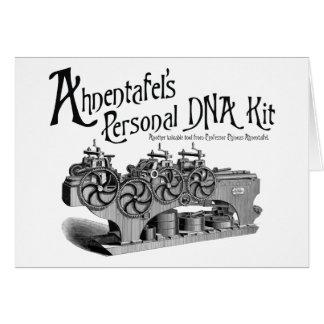 Equipo personal de la DNA de Ahnentafel Tarjeta