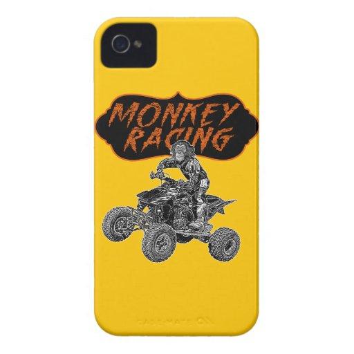 Equipo que compite con del mono Case-Mate iPhone 4 carcasa