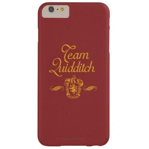 Equipo Quidditch Funda De iPhone 6 Plus Barely There