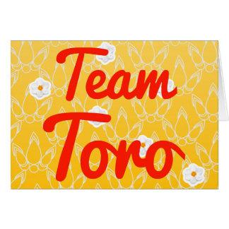 Equipo Toro Felicitaciones