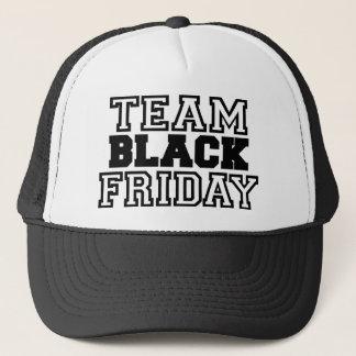 Equipo viernes negro gorra de camionero