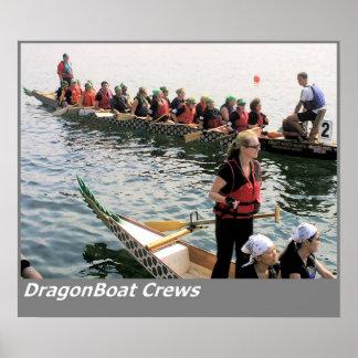 Equipos de Dragonboat Poster