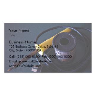 Equipos que sueldan plantillas de tarjeta de negocio