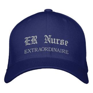 Er gorra bordado Extraordinaire de la enfermera Gorra De Béisbol