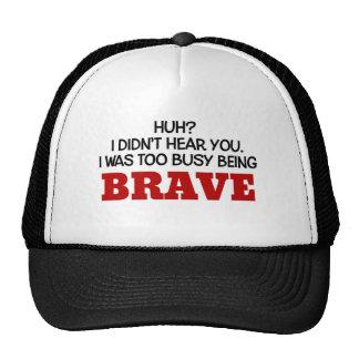 Era el ser demasiado ocupado valiente gorras de camionero