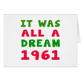 Era todo el un 1961 ideal felicitaciones