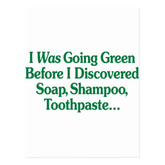 Era verde que iba… tarjetas postales