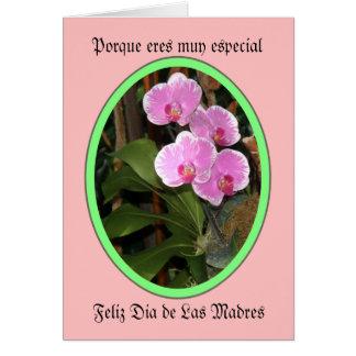 Eres feliz especial muy dia de las madres de tarjeta de felicitación
