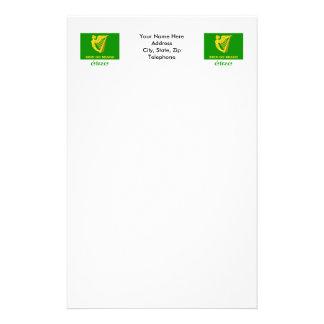 Erin va bandera de Bragh con nombre Papeleria