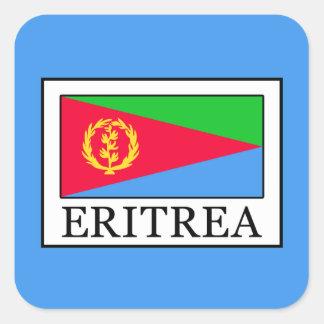 Eritrea Pegatina Cuadrada