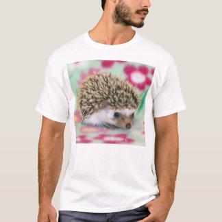 Erizo del flower power camiseta