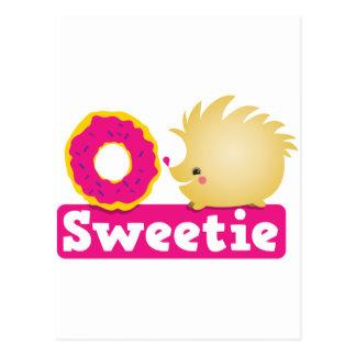 ERIZO del sweetie Postal