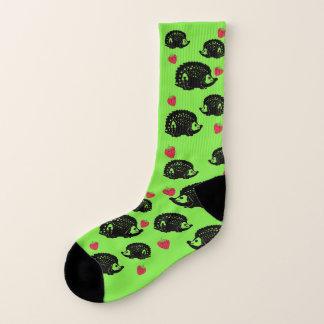 Erizos y fresas - calcetines