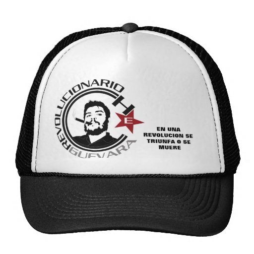 Ernesto Guevara Gorros Bordados