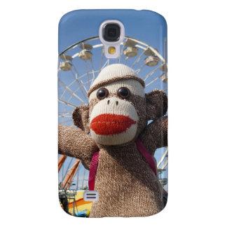 Ernie la caja de la mota del iPhone 3 del mono del Funda Samsung S4