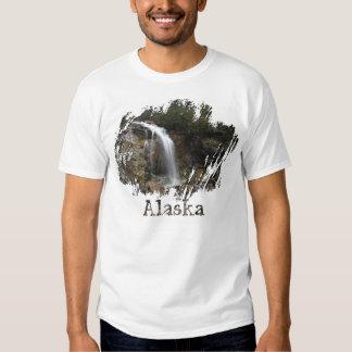 Erosión de la cascada; Recuerdo de Alaska Camiseta
