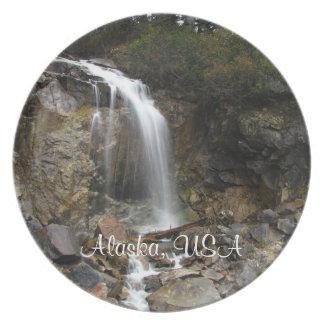 Erosión de la cascada; Recuerdo de Alaska Plato