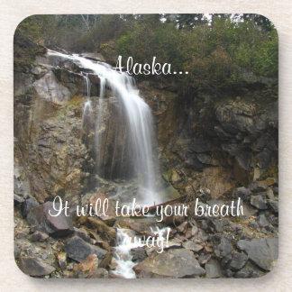 Erosión de la cascada; Recuerdo de Alaska Posavaso