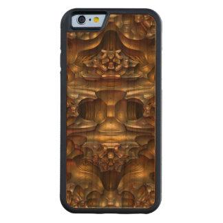 Erosión - un fractal tridimensional funda de iPhone 6 bumper cerezo
