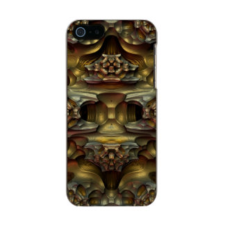 Erosión - un fractal tridimensional funda para iPhone 5 incipio feather shine
