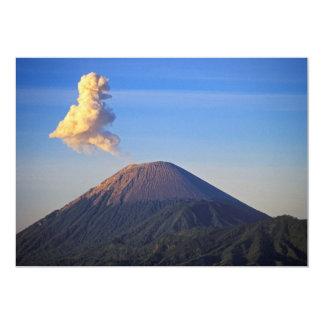 Erupción del volcán del Mt. Bromo, Indonesia Invitación Personalizada